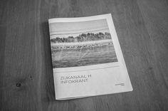 Zijkanaal H informant #news #water #amsterdam #lake #paper #typography
