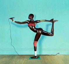 Grace Jones Island Life album cover, 1985
