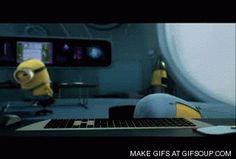 Banana Animated GIF | Cute GIFs - GIFSoup.com #gif #minion
