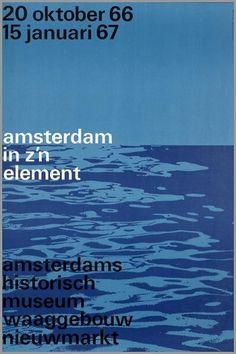 Amsterdam Historisch Museum by Wim Crouwel #design #graphic #crouwel #poster #wim