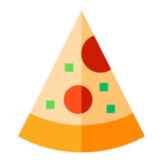 See more icon inspiration related to pizza, fat, fastfood, food and restaurant, salami, italian food, pizza slice, dough, piece, food and cheese on Flaticon.
