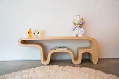 bear inspired minimalist table #interior #design #decor #home #furniture #furnishings