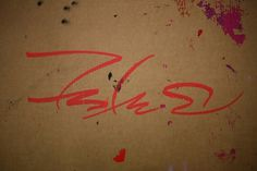 All sizes | SOUTH THIRD STREET | Flickr - Photo Sharing! #red #cardboard #graffiti #rough #tag #futura