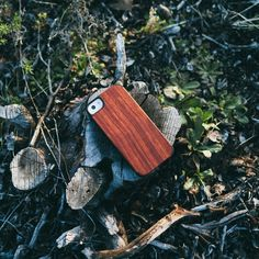 Rosewood Wood iPhone 5/5s Case by Recover