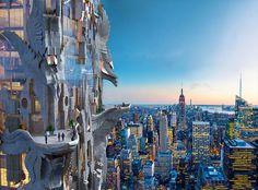 Stunning New York Skyscraper
