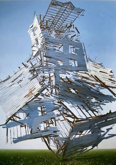 urban taster | stuff we like #painting #exploding #art #buildings