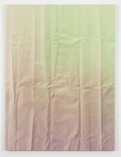 Tauba Auerbach #pastel #fold #acrylic on canvas