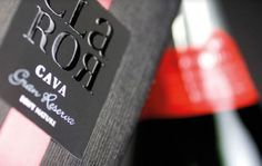 CLAROR on the Behance Network #packaging #labeling #cava #wine