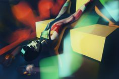 Colorful and Creative Idea Photography by Jan masny - Burning Chrome #creative #nude #colorful #photography #idea