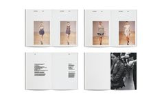 LOUISE AMSTRUP - SPRING/SUMMER 09 | LOOKBOOK #layout #design #graphic #editorial