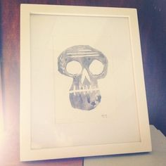 jaredchapman #print #chapman #jared #illustration #skull