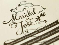 Wedding Invitation by Maricor and Maricar, http://maricormaricar.blogspot.com.au/2011/09/mr-postman.html