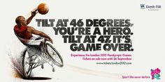 Creative Review - London 2012 Paralympic Games Campaign #campaign #london #print #paralympics #hellovon