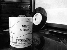 Taste your Music - Mug #music #synthesiser #vinyl #mug