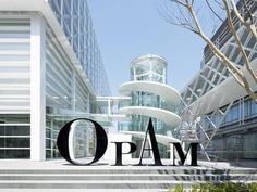 Wayfinding | Signage | Sign | Design | OPAM 美術館 簡潔清爽的指示設計