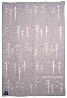 Norwegian wood blanket