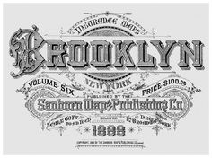sanborn-maps-new-york-1888-brooklyn-large.jpg (720×540) #design #label #monogram #vintage #type #typography
