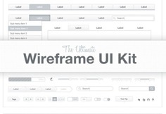 The ltimate wireframe kit Free Psd. See more inspiration related to Frames, Web, Elements, Buttons, Web elements, Web button, Interface, Wireframe, Horizontal and Kit on Freepik.