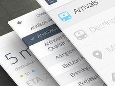 MetroLite App by Alex S. Lakas #interactive #uxui #design #interface #web