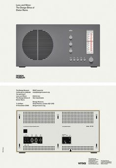WANKEN - The Blog of Shelby White » Less and More: Dieter Rams #design #industrial #braun #rams #modernism #dieter