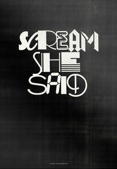 4_dwm01scream.jpg (485×700) #typography
