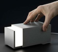 swissmiss | Box Light #light #lamp #box
