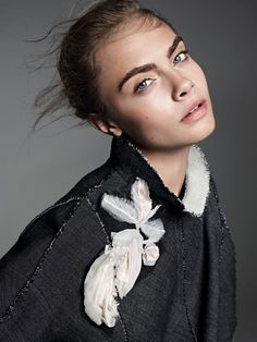 Cara Delevingne by Karim Sadli for Vogue US #fashion #model #photography #girl