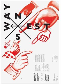 AGDA event posters, Uriah Gray's Portfolio #poster #uriah gray #barbara glauber