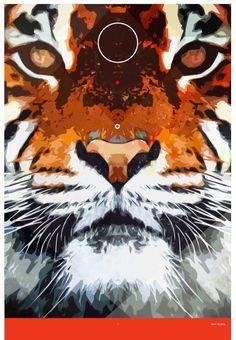 Tiger #print #tiger #poster