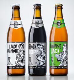 AleBrowar #packaging #beer #label #bottle