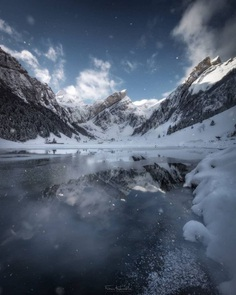Impressive Mountainscape Photography by Fabian Hurschler