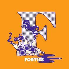 FFFFOUND! | 16_brooklynf.jpg (600×600) #initial #caps #illustration #typography