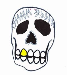 dad - Society6 #teeth #drge #mille #art #skull #drawing