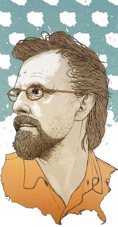 Portraits 2011 on the Behance Network #usa #illustration #portrait #digital