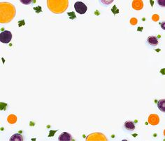 Plated Food Pattern #pattern #color #fruit #vegetables