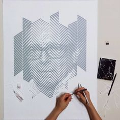 Amazing Paper Portraits by Yoo Hyun | Inspiration Grid | Design Inspiration