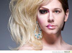Half Drag Portraits by Leland Bobbe #inspiration #photography #portrait