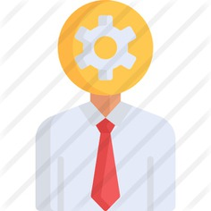 See more icon inspiration related to Cognitive, brain, education, head, gear, cogwheel, person and people on Flaticon.
