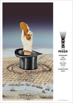 ljubobratina - FilmMixer - independent film festival held in... #festival #design #independent #film #collage