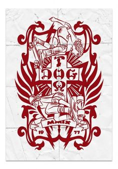 dogtown_poster.jpg (image) #dogtown #frisco #illustration #skate #californie #skateboard #1977