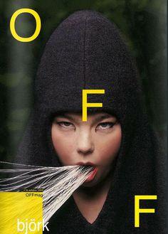 OFFmag – Bjork issue   Tasarım #cover #offmag