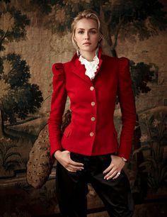 Valentina Zalyaeva by Richard Phibbs for Ralph Lauren's Campaign #fashion #model #photography #girl
