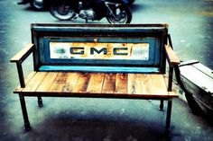 #tailgate #reclaimed #bench #furniture