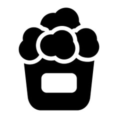 See more icon inspiration related to popcorn, snack, fast food, cinema, food, entertainment and salty on Flaticon.