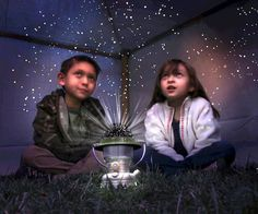 Nat Geo Starry Night Lantern From Uncle Milton