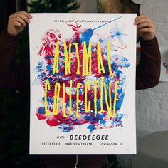 Animal Collective #cmyk #animal #poster #collective