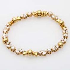 Armband mit 20 Diamant-Navettes