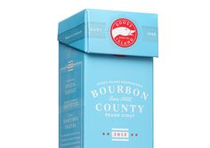 Bourbon County Stout #packaging #typography