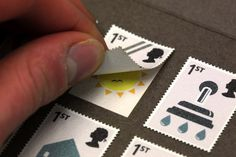 RSA World with a Future Postage Stamps #stamp #close #illustration #up #macro