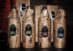 Beer, packaging #packaging #beer
